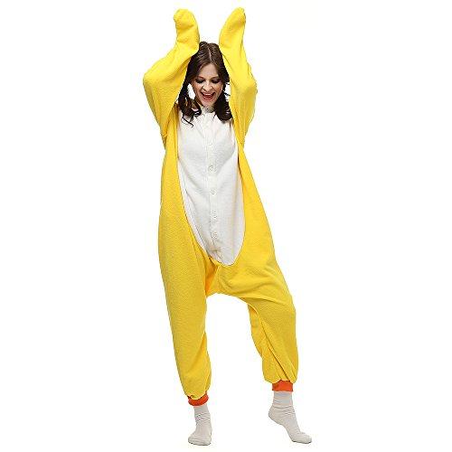 Superband Animal Cosplay Costume Adult Pajamas Anime Cartoon Sleepwear Yellow duck