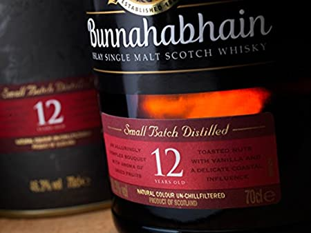 Bunna hab 12años de cerezo Islay Single Malt Scotch Whisky (1x 0,7l)
