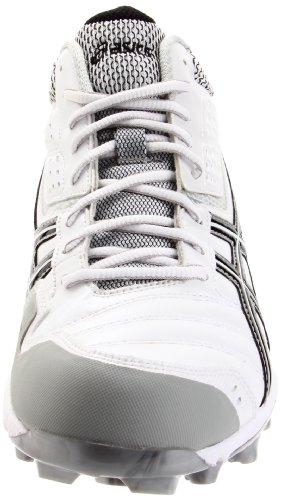 Asics Mens Gel-provost Mi Lacrosse Taquet Blanc / Noir / Argent ...