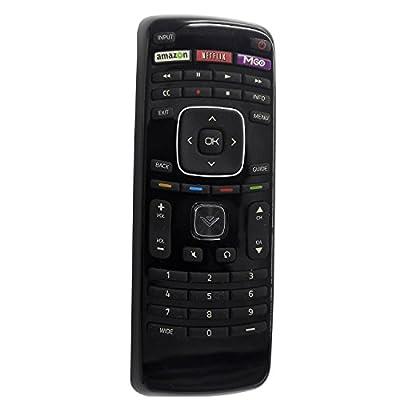 New XRT112 TV Remote Control fit for Vizio TV E291I-A1 E420d-A0 E401i-A2 E241i-A1 E390i-A1 E420i-A1 TV with Netflix Amazon MGO APP Key