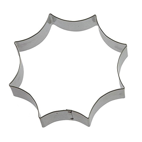 (Spider Web Cookie Cutter 4.5 in B1662 - Foose Cookie Cutters - US Tin Plated Steel)