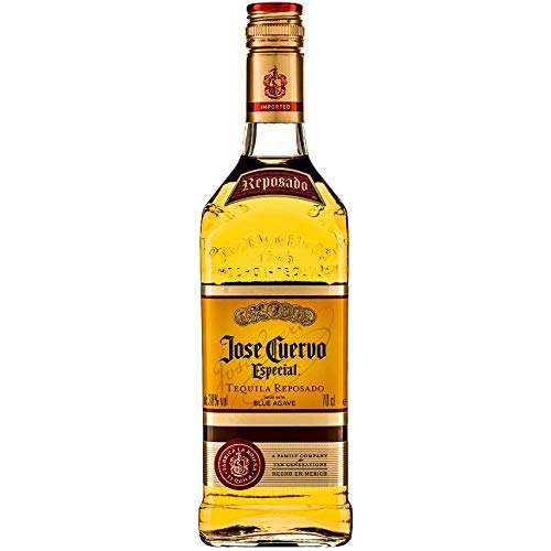Jose Cuervo Tequila Reposado Bottle Edible Cake Topper Image ABPID01735 - 1/8 sheet