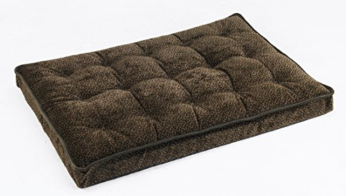 Bowsers Luxury Crate Mattress Dog Bed, Small, Chocolate Bone
