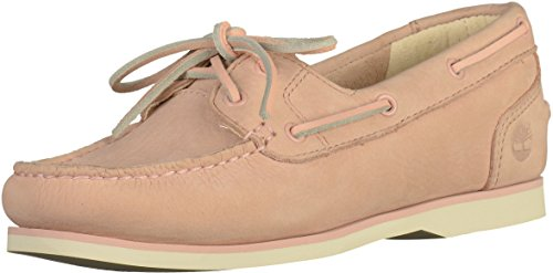 Pink Boatsilt Boat Women''s Classic Green Unlined Timberland Shoes Buttersoft Ixv7Z8f8qw