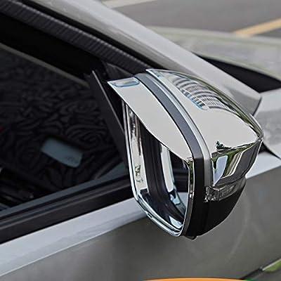HIGH FLYING per T-Roc 2017 2018 exterieur Maniglia Retronebbia Specchietto Retrovisore Laterale Specchio Styling leisten cromato ABS plastica