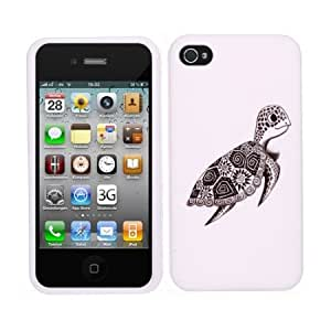 Fincibo (TM) Premium Hard Crystal Plastic Snap On Protector Cover Case Front and Back for Apple iPhone 4 4S, Cute...