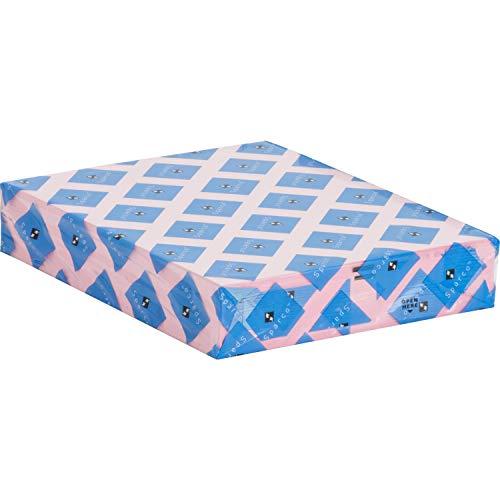 Sparco 05124 Premium Copy Paper, 20Lb, 8-1/2-Inch x11-Inch, 500/RM, Pink