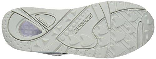 Saucony Grid 9000 - Tacones Unisex adulto Light Grey/Black/Grey