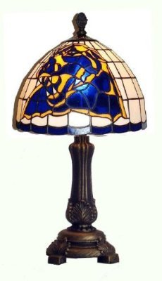Pittsburgh Panthers Accent Desk/Table Lamp (9x16)