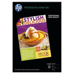 hure and Flyer - Glossy paper - A3 (11.7 in x 16.5 in) - 180 g/m2 - 50 sheet(s) (50 Glossy Brochure Sheets)