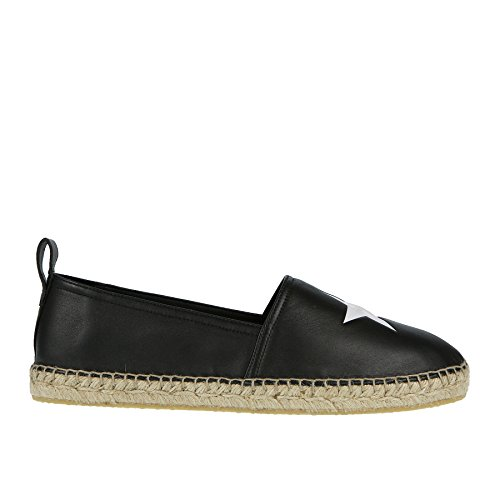 Givenchy Espadrillas Nera in Pelle - 43