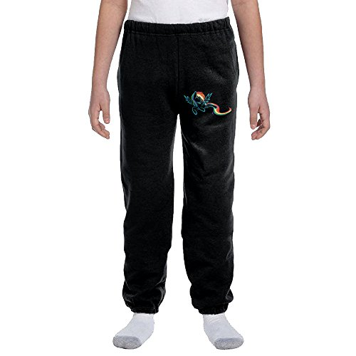 Cool Rainbow Dash My Little Pony Teen Men Loose Pajama Sleep Lounge Bottom Pants Sports Black Large for $<!---->