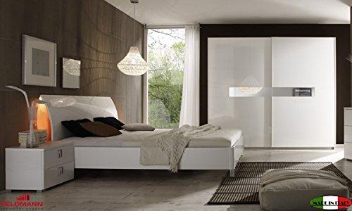 Schlafzimmer 555020 komplett 4-teilig mit Kleiderschrank ...
