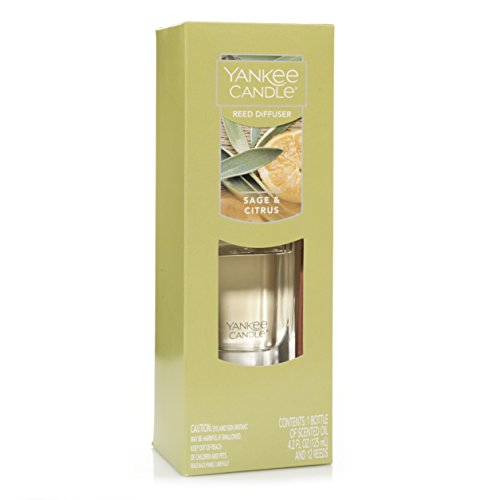 (Yankee Candle Reed Diffuser, Sage & Citrus)