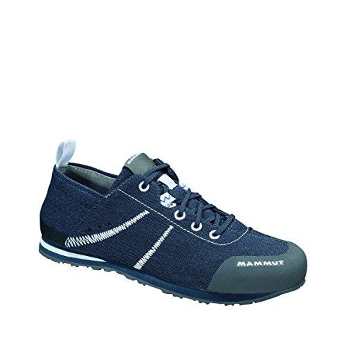 Damen und Herren Zustiegs-/Wander-Schuh Sloper Low Canvas dunkelblau