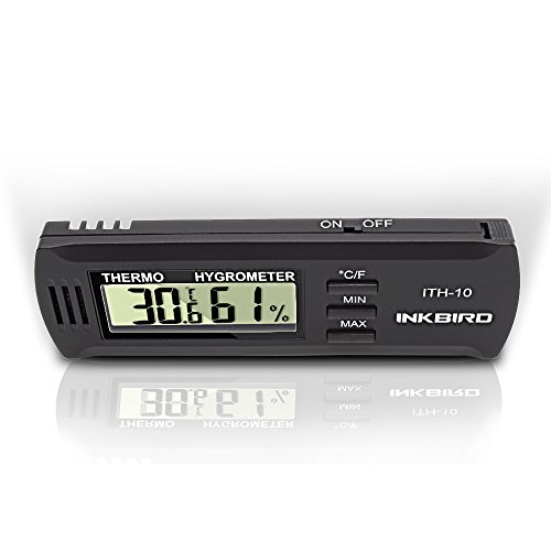 Inkbird Dc 3V Input Digital Thermometer & Humidity Meter Hygrometer ITH-10 by Inkbird (Image #3)