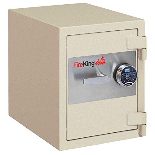 Fireking Fire & Burglary Safe, Combination lock, 27.31'' H x 24.44'' W x 21.63'' D/2.9 cu. ft., Taupe by FireKing