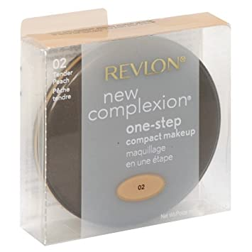 Revlon New Complexion One Step Compact Makeup Tender Peach 2-Pack