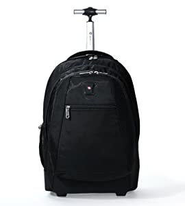 Amazon.com: Wenger Swiss Gear SA-092806 Wheeled Backpack, Fits ...