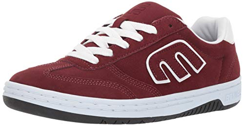 - Etnies Men's LOCUT Skate Shoe, Burgundy/White, 10.5 Medium US