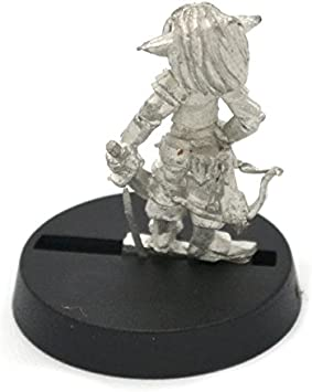 Stonehaven Gnome Wizard Rider Male Miniature Figure for 28mm-Scale Tabletop Wargames