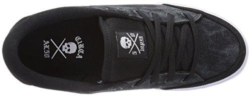 C1RCA Lopez  50 - zapatilla deportiva de piel Unisex adulto Black-Tie Dye