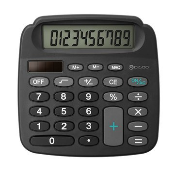 Solar Power Calculator Kitchen Tools & Gadgets - Dg-Mc1 True Solar Energy Electronic Calculator Definition Lcd - World Office - 1PCs by Unknown