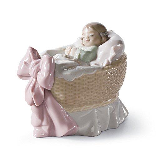 Lladro A New Treasure Girl Porcelain Figurine, 01006977