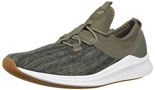 Army Mens Shoes - New Balance Men's Fresh Foam Lazr v1 Running Shoe, Military Foliage Green/White, 12 D US