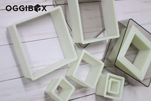 Oggibox 9-Piece Square Nylon Cutter ()
