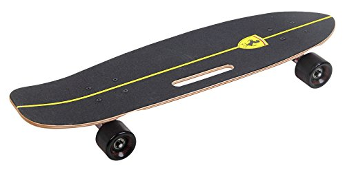 Ferrari Cruiser Skateboard, Black, 26.5″ X 7.5″