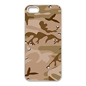 Camouflage Pattern ZLB560181 Unique Design Phone Case for Iphone 5,5S, Iphone 5,5S Case