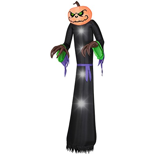 Gemmy 74825 Airblown Pumpkin Reaper Halloween Inflatable