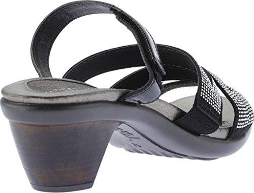 Naot Mid Black Formal Sandals Heel Women's A8pw7fqq