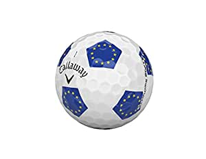 Callaway Golf Chrome Soft Truvis Golf Balls, (One Dozen), European Union