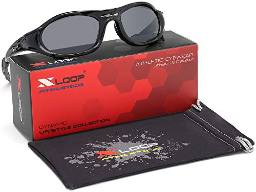 acbbca81ce X-Loop Wrap Around Men s Sport Cycling Baseball Running Sunglasses