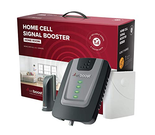 weBoost Home Room – Cell Phone Signal Booster   Boosts 4G LTE & 5G for all U.S. Networks & Carriers – Verizon, AT&T, T…