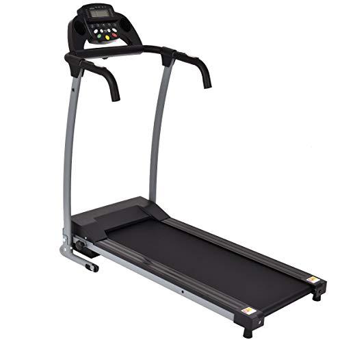 Diamondgift Treadmill Running Walking Folding Electric LED Display Gym Exercise Machine 800W