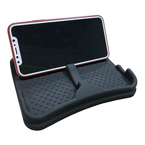 Anti-Slip Car Dash Grip Pad for Cell Phone, Keychains, Sun Glasses,Stand for Navigation Cell - Sunglasses Dash