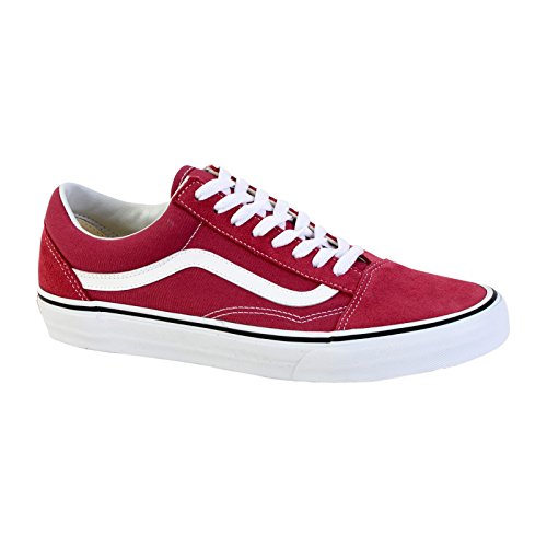 True Old Rose Rouge Skool White Vans Dry q7zvI4ww