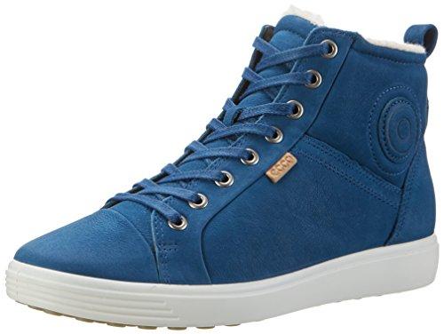 ECCO Soft 7 Ladies, Zapatillas para Mujer Blau (2269POSEIDON)