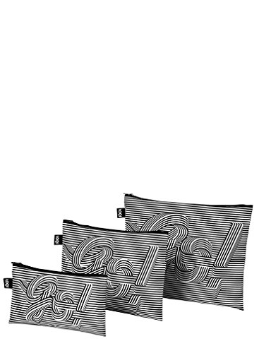 LOQI SAGMEISTER & WALSH Go Go Go Zip Pockets