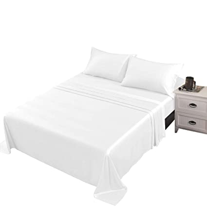 Sheet Set//Fitted Sheet Deep Pocket RV Bed/&US Size 1000 TC Egyptian Cotton Ivory