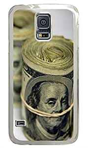 Samsung Galaxy S5 Old dollar PC Custom Samsung Galaxy S5 Case Cover Transparent