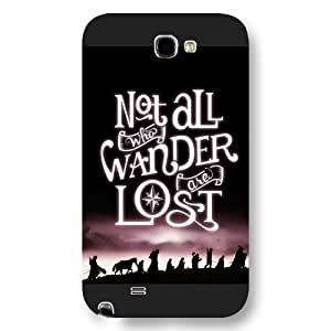 A-Lee the Lord Of The Rings Custom Phone Case for Samsung Galaxy Note 2, Lord Of The Rings Customized Samsung Galaxy Note 2 Case, Only Fit for Samsung Galaxy Note 2 (Black Frosted Shell) by ruishername