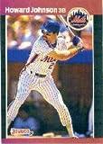 1989 Donruss Baseball Card #235 Howard Johnson Mint