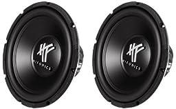 Hifonics HFX12D4 12-Inch 1600 Watt HF Series Dual 4 Ohm Car Subwoofers, Pair of 2