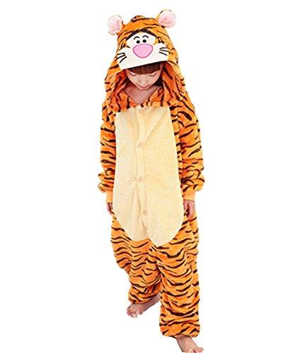 Unisex Adult Kid Animal Pajama Cartoon Sleepwear Nightgown Onesie Jumper Costume (Adult Cartoon Characters)