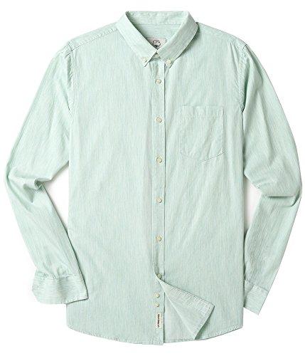 [해외]망 옥스포드 긴팔 솔리드 버튼 캐주얼 드레스 셔츠/Mens Oxford Long Sleeve Solid Button Down Casual Dress Shirts