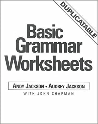 Printables Basic Grammar Worksheets basic grammar worksheets andy jackson audrey john facsimile edition